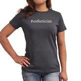 Eddany #Esthetician Hashtag Women T-Shirt