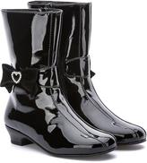 Rachel Black Patent Juliet Boot