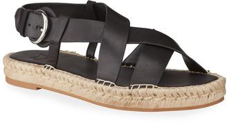 Marc Fisher Tallia Leather Espadrille Sandals