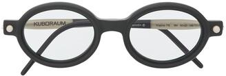 Kuboraum P6 round-frame sunglasses
