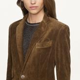 Ralph Lauren Black Label Denim Suede Dabney Jacket