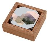 DENY Designs Marble Coaster Set & Tray