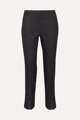 Tibi Beatle Mid-rise Straight-leg Jeans - Dark denim