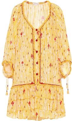 Poupette St Barth Bobo cotton minidress