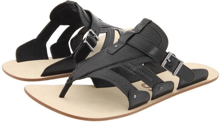 Yohji Yamamoto Luxilette (Y-3 Black/Y-3 Black/Y-3 Blue) - Footwear