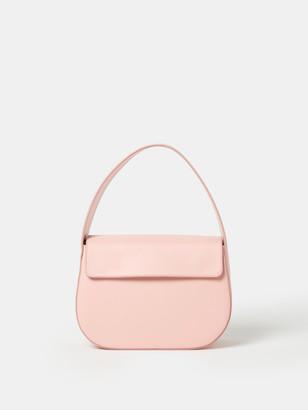 Blame Lilac Cesta Leather Handbag