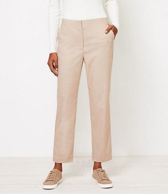 LOFT Tall High Waist Slim Pants in Herringbone