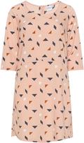 Junarose Plus Size Graphic print woven dress