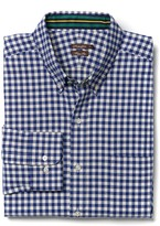 J.Mclaughlin Westend Trim Fit Flannel Shirt in Gingham