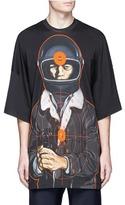 Christopher Kane Target print oversized T-shirt