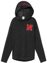 PINK University Of Nebraska Crossover Pullover