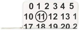 Maison Margiela number print wallet