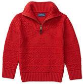 Ralph Lauren Cotton-Linen Pullover