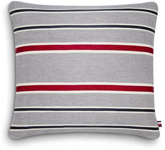 "Tommy Hilfiger Appliqued Tommy Stripe Decorative Pillow, 20"" x 20"""