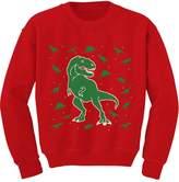 TeeStars - Dinosaur Chaos Cute Holidays Ugly Christmas Toddler/Kids Sweatshirts