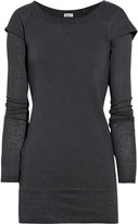 Double-layered cotton top
