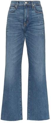 SLVRLAKE Stonewashed Straight-Leg Jeans