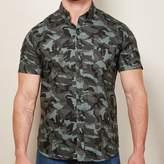 Blade + Blue Blue, Gray & Black Camo Print Shirt - JOEY