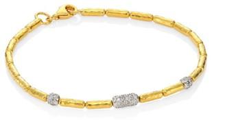 Gurhan 24K Gold Beaded Bracelet