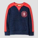 Cat & Jack Toddler Boys' Sweatshirt Heather Cat & Jack - Navy Voyage 5T