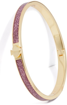 Kate Spade Heritage Spade Thin Glitter Bangle Bracelet
