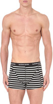 Bjorn Borg Striped and plain pack of three stretch-cotton trunks
