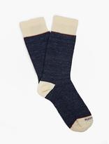 Etiquette Clothiers Blue Slubby Socks