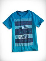 GUESS Big Boy Dip-Dyed Graphic Tee (8-20)