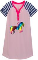 Jessica Simpson Cap Sleeve Nightgown Tee (Big Girls)