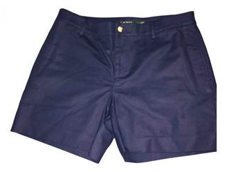 Lauren Ralph Lauren Blue Cotton Shorts for Women