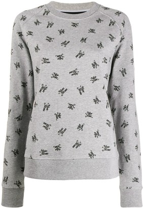 Marc Jacobs Logo Branded Sweatshirt