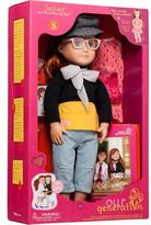 Our Generation Deluxe Twin Doll Sabina With Book
