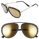 Tom Ford Women's 'Stacy' 57Mm Sunglasses - Black/ Super Bronze