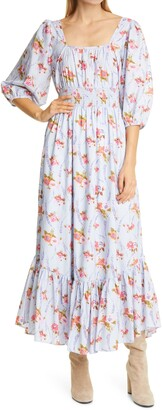LoveShackFancy Minnia Maxi Dress
