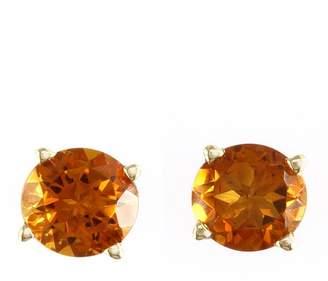 Effy 14K Yellow Gold Citrine Stud Earrings