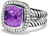 David Yurman Albion Ring with Amethyst & Diamonds