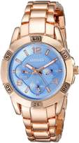 August Steiner Women's AS8143RGBU Analog Display Quartz Rose Gold Watch