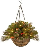 Crestwood National Tree Company 20 in. Artificial Spruce Hanging Basket