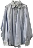 Saint Laurent Blue Polyester Shirts