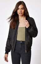 KENDALL + KYLIE Kendall & Kylie Lace-Up Bomber Jacket