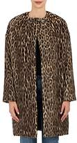 Brock Collection Women's Leopard-Print Wool-Blend Coat