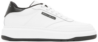 Paul Smith White and Black Hackney Sneakers