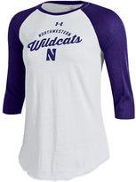 Under Armour Women's Northwestern Wildcats Baseball Tee
