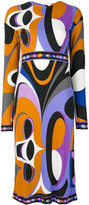 Emilio Pucci Maschera New Marilin dress - women - Silk/Viscose - 42