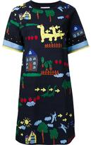 Muveil printed T-shirt dress - women - Cotton - 36