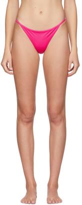 Versace Underwear Pink Jersey Bikini Bottoms