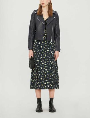 Claudie Pierlot Coquillette leather jacket