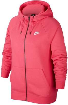 Nike Plus Size Nsw Essential Fz Hoody