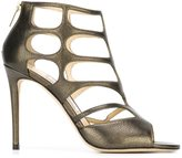 Jimmy Choo 'Ren 100' sandals - women - Leather - 36