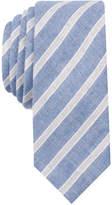 Nautica Original Penguin Men's Pearl Stripe Skinny Tie